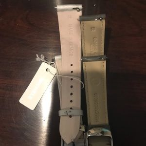 Michele Accessories - Brand new Michele straps fits 18 mm watch,